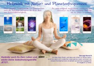 Heilmusik mit Natur- und Planetenfrequenzen